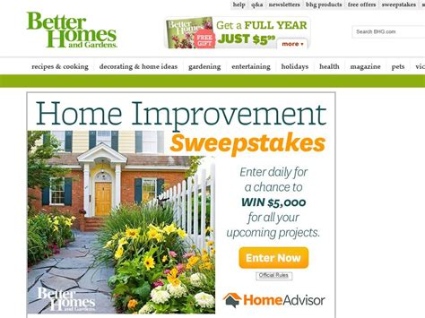home improvement sweepstakes hum home review