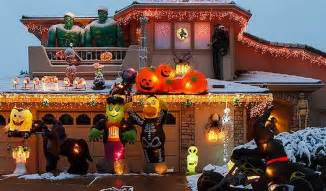 halloween decorations for sale online world s craziest halloween and xmas display can be yours