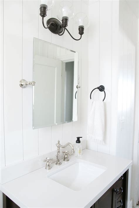 mixing metals in the bathroom 101 chris loves julia the most diy friendly bathroom renovation we ve ever done