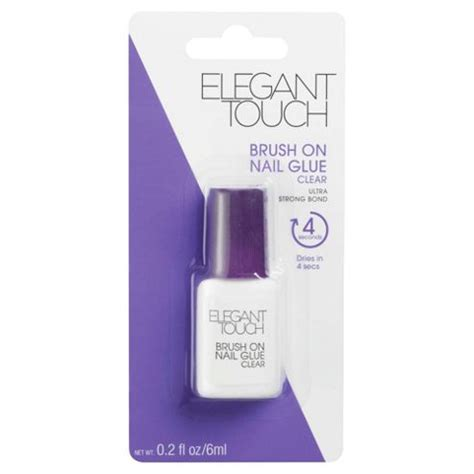 Tesco Affordable Elegance Range by Buy Touch Brush On Nail Glue From Our False Nails