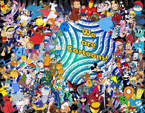 Scooby Doo Wall Mural cartoon collage by h20dds on deviantart