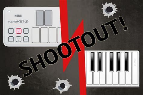 Korg Cme Xkey shootout korg nanokey2 vs cme xkey 25 megasynth