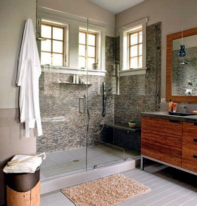 embed a walk in shower bathroom interior design - Standard Badezimmer Vanity Höhe