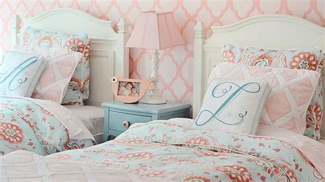 Blue Ombre Bedding From Nursery To Big Room For Two Sisters Youtube