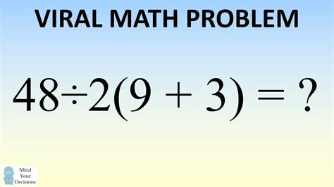 9 Problems With The by Math Problem Stumping The What Is 48 247 2 9 3