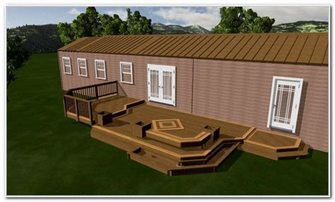 decorating ideas for manufactured homes deck ideas for manufactured homes decks home