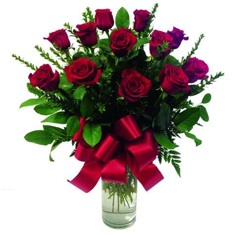 One Dozen Roses by One Dozen Stem Roses In A Vase In Glendale Ca