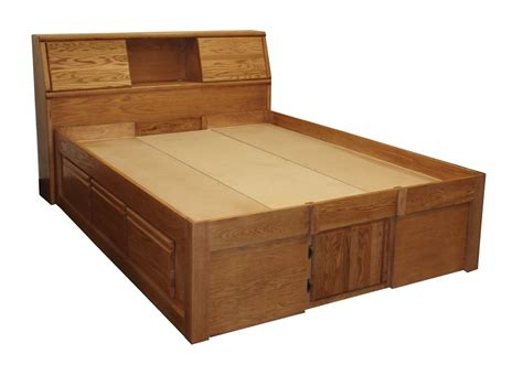 oak platform bed fd 3021 contemporary oak platform bed headboard sold