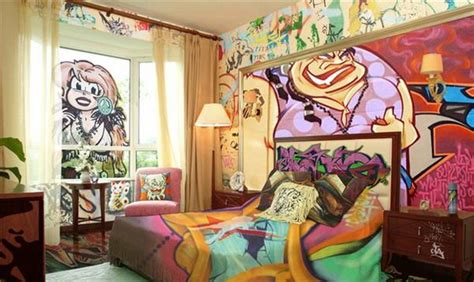 graffiti wall art bedroom 19 best graffiti wall design images on pinterest