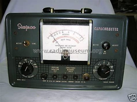 capacitor leakage tester circuit capacohmeter in circuit capacitor equipment electr