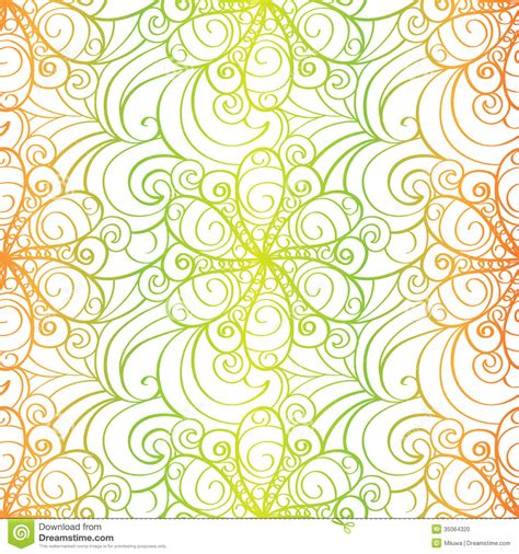 Patterned Origami Paper - abstract floral background stock photo image 35064320