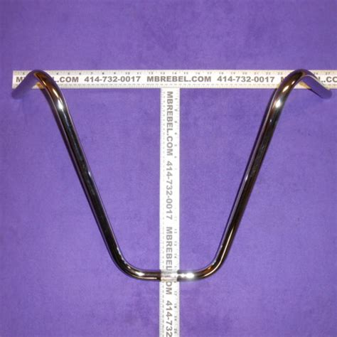 Hanger Setelan 16 Inchi 16 quot inch ape hanger v handlebars chrome or black mbrebel