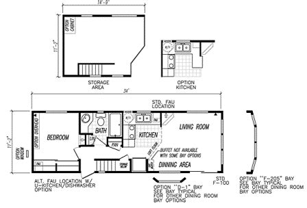 Mobile Tiny Home Plans | mobile home floor plans manufacturers and models