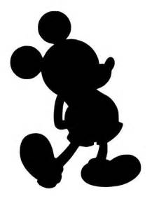 mickey mouse silhouette template 25 best mickey mouse silhouette ideas on