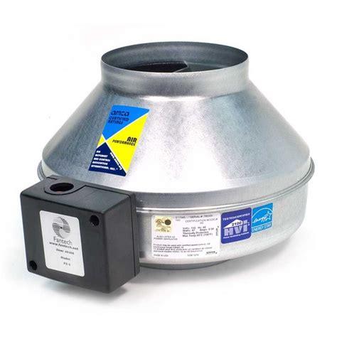 fantech 4 inch inline fan fantech fg4 inline centrifugal fan metal housing