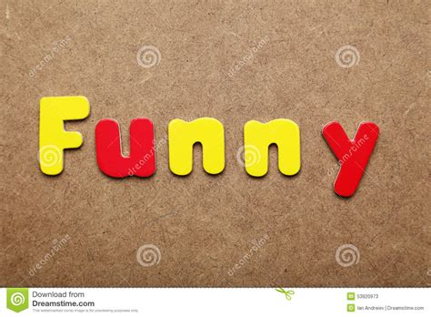 funny word stock image image  message communication