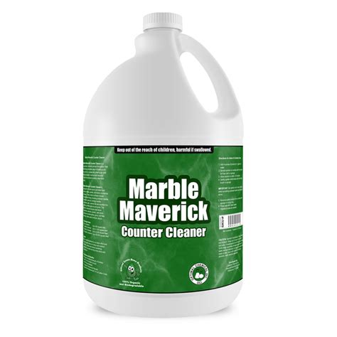 Cleaning Products For Marble Countertops marble maverick non toxic granite cleaner 1 gallon
