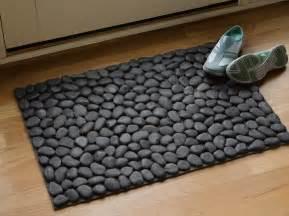 rock bath mat how to make river doormat diy crafts handimania