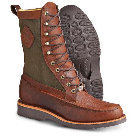 s chippewa boots s chippewa 174 10 quot upland moc toe boots mahogany