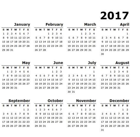 landscape calendar template 2017 calendar landscape template free calendar template