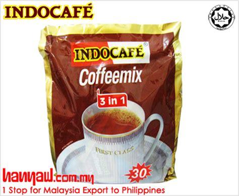Indocafe Coffeemix indocafe 3 in 1 coffeemix hanyaw malaysia 1 stop exporter to philippines
