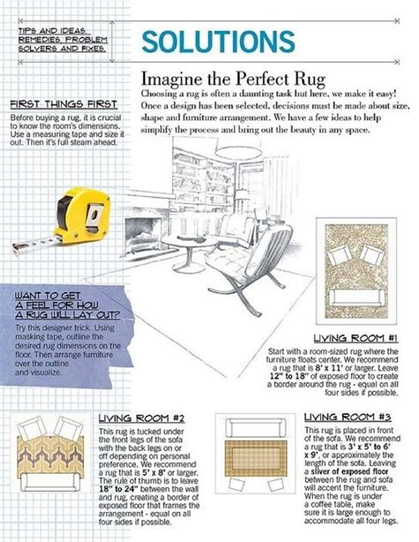 How To Choose Area Rug Size How To Choose Rug Size Design Tips Pinterest