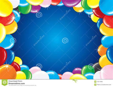 imagenes de cumpleaños con globos globos del cumplea 241 os fotos de archivo libres de regal 237 as