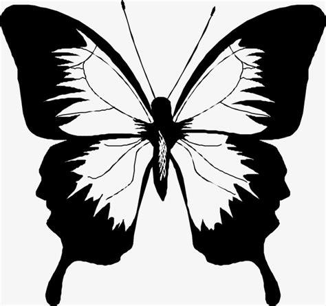 imagenes de mariposas siluetas la silueta de mariposa material vector mariposa insecto