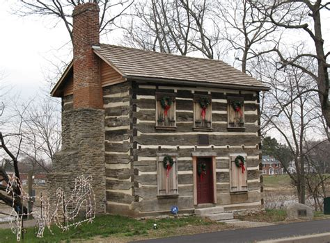 Log Cabin Builders In Ohio by Log Post Office In Warren County Ohio Places