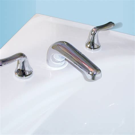 colony bathtub colony soft deck mount bathtub faucet trim kit american