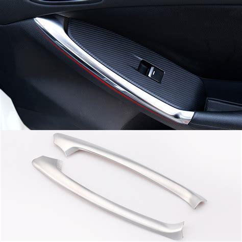 Honda Hrv Outer Handle Cover Activo Chrome Aksesoris Jsl fit for mazda cx 5 cx5 chrome interior inner rear armrest door handle cover trim ebay