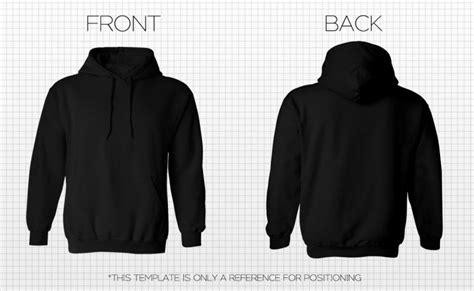 Black Sweatshirt Template