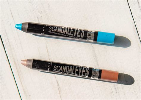 Eyeshadow Stick review rimmel scandaleyes eye shadow sticks