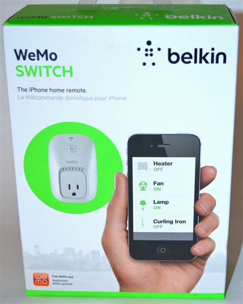 belkin wemo smart home automation switch review the
