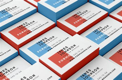 business card template pack business cards mockups pack vol 1 on behance
