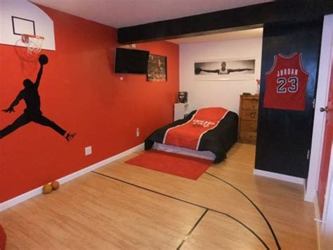 boys sports bedroom 20 sporty bedroom ideas with basketball theme dream 10939 | 966c050c8c8564f7999ddee01f41b970