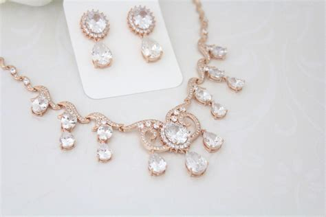 Set Necklace Earrings C73934 Gold wedding gold necklace www imgkid the image kid has it