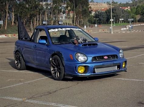 subaru forester ute mighty car mods has built the subaru ute of our dreams