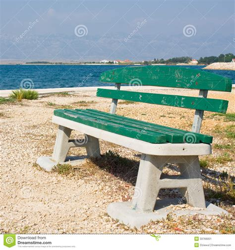 bench on the beach bench on the beach stock image image 33766051