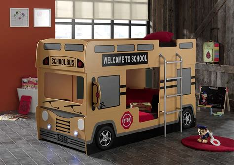 school bus bed school bus bunk bed