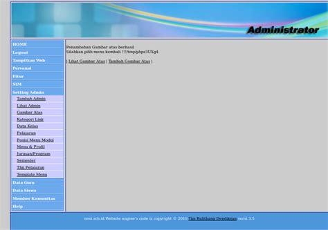 format tilan gambar pada web mengganti header pada website sekolah pada cms balitbang