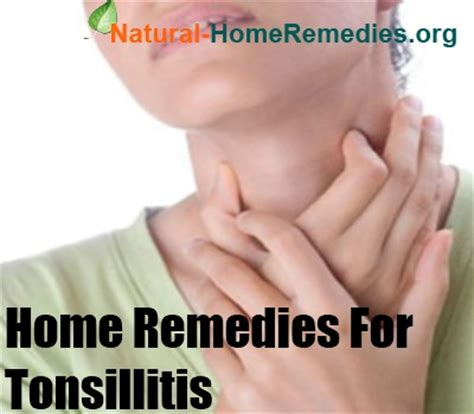tonsillitis home remedies tonsillitis treatment