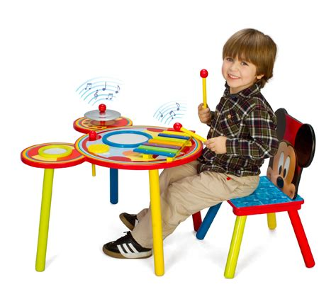 delta children mickey mouse child s table and chair set