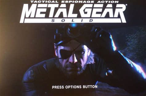 ps4 themes metal gear solid metal gear solid 5 ps4 gets direct feed shots from hideo