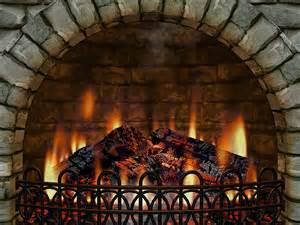 3d fireplace screensaver free