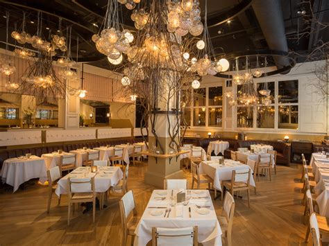 Silver Dining Room Table what new york restaurants have the best christmas decor