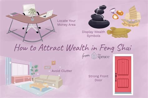 attract  energy  wealth  feng shui tips