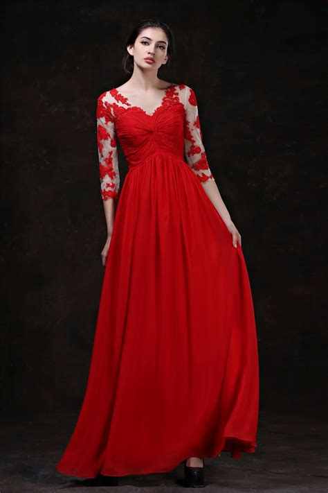 brides  married  red wedding dresses