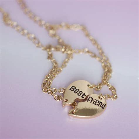 gold best friends bracelets by junk jewels