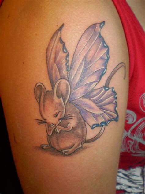 mouse tattoo by unibody on deviantart
